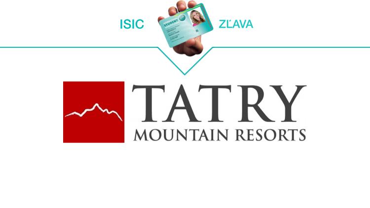 tatry mountain resorts isic zlava