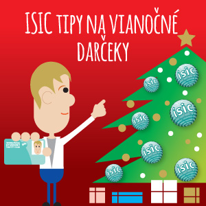 http://isic.sk/tipy-na-vianocne-darceky-zlavou-isic-itic-euro/