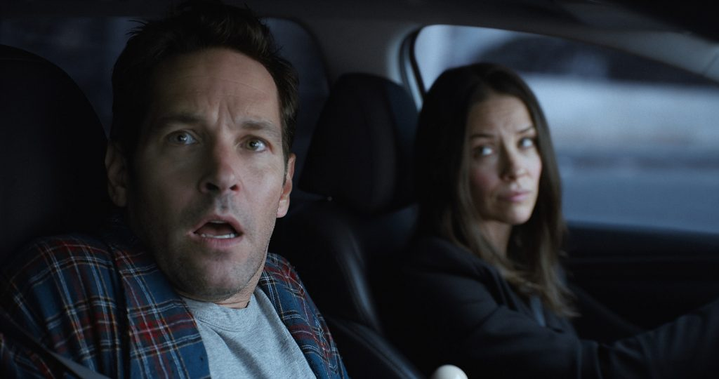 Marvel Studios' ANT-MAN AND THE WASP..L to R: Scott Lang/Ant-Man (Paul Rudd) and Hope van Dyne/The Wasp (Evangeline Lilly)..Photo: Film Frame..©Marvel Studios 2018