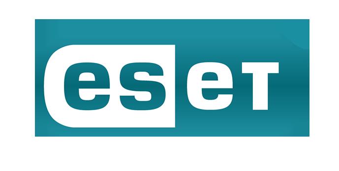ESET logo SVK - Lozenge - Colour - Mid Grey tag - Large R - RGB
