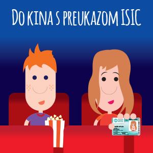 e8e182eea ISIC: Zájdi si do kina s ISIC za lepšie ceny a zvýhodnené vstupné